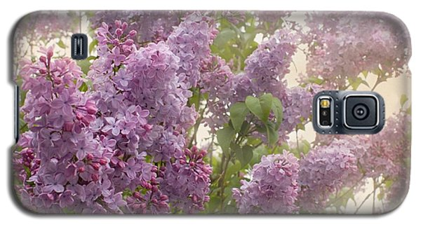 Swimming In A Sea Of Lilacs Galaxy S5 Case by Cindy Garber Iverson