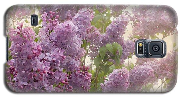 Swimming In A Sea Of Lilacs Galaxy S5 Case