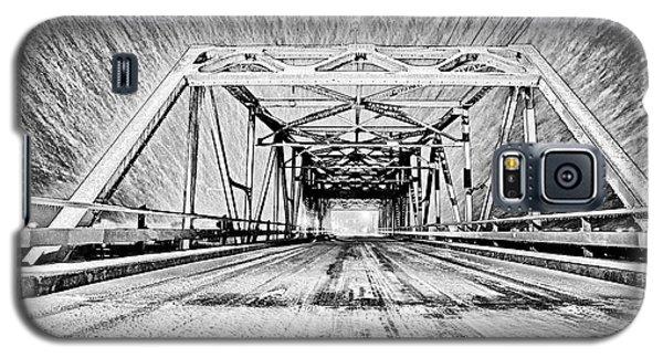 Swing Bridge Blizzard Galaxy S5 Case
