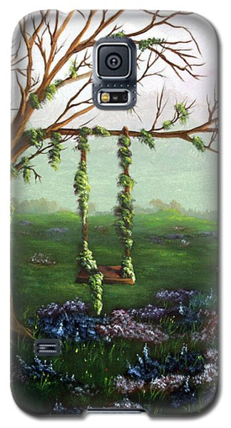 Swingin' With The Flowers Galaxy S5 Case