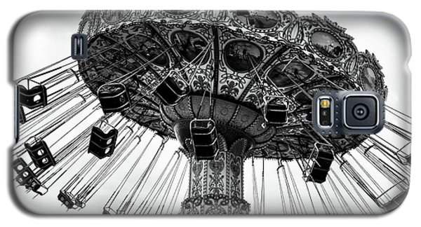 Swinging At Seaside Heights Mono Galaxy S5 Case