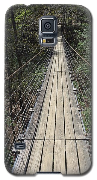 Swinging Bridge Falls Creek Falls State Park Galaxy S5 Case
