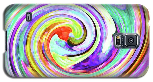 Galaxy S5 Case featuring the photograph Swirling Leaves 2 by Margaret Saheed