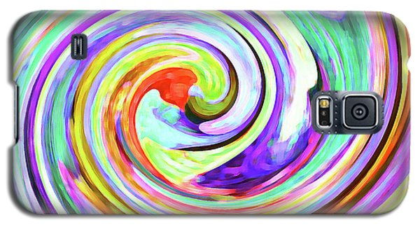 Swirling Leaves 2 Galaxy S5 Case