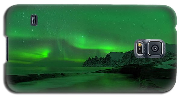 Swirling Skies And Seas Galaxy S5 Case