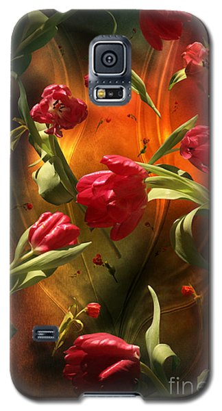 Swirling Tulips Galaxy S5 Case by Johnny Hildingsson