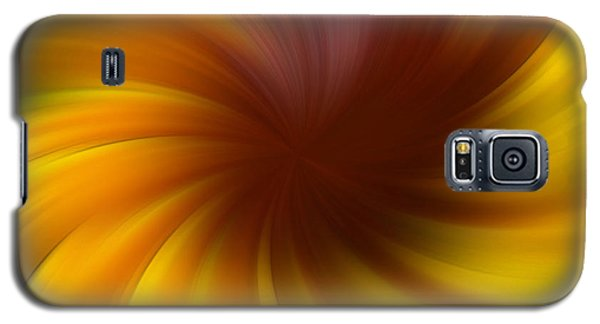 Swirling Yellow And Brown Galaxy S5 Case by Smilin Eyes  Treasures