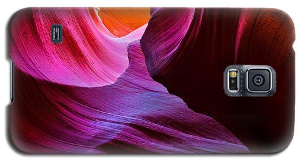 Swirls And Layers Galaxy S5 Case