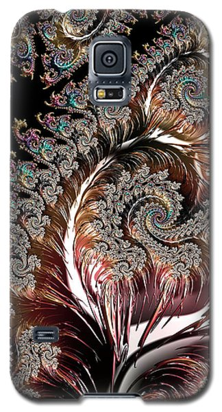 Swirls And Roots Galaxy S5 Case