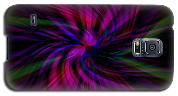 Galaxy S5 Case featuring the photograph Swirls by Cherie Duran