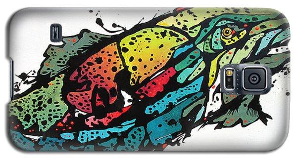 Swish Galaxy S5 Case by Nicole Gaitan