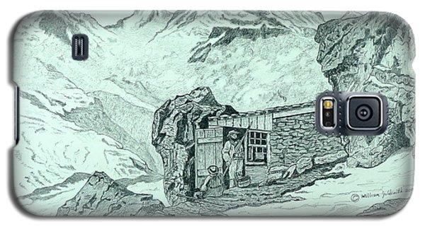 Swiss Alpine Cabin Galaxy S5 Case