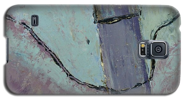 Galaxy S5 Case featuring the painting Swiss Roof by Paul McKey