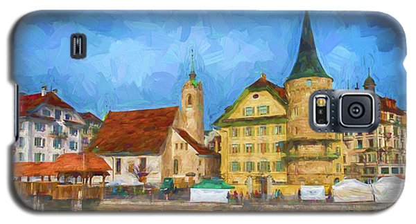 Swiss Town Galaxy S5 Case by Pravine Chester