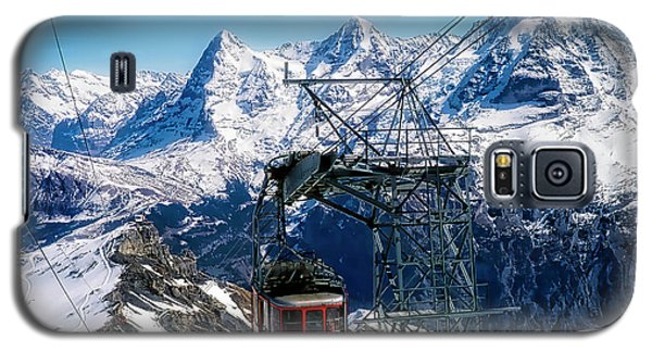 Switzerland Alps Schilthorn Bahn Cable Car  Galaxy S5 Case