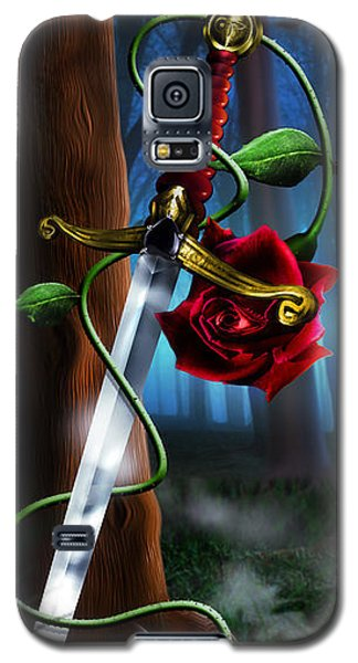 Sword And Rose Galaxy S5 Case