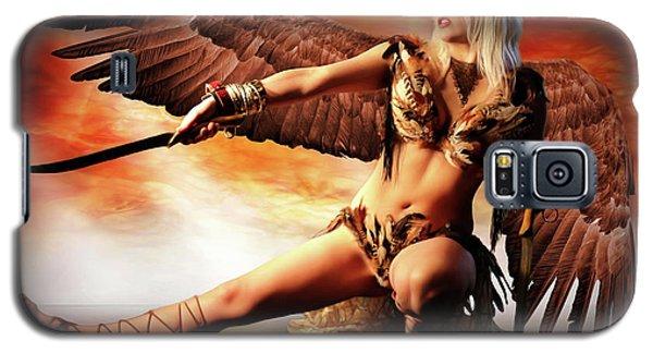 Swords Of The Hawk Woman Galaxy S5 Case