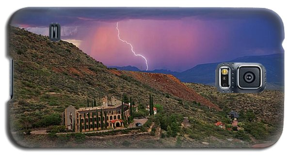 Sycamore Canyon Lightning With Little Daisy Galaxy S5 Case