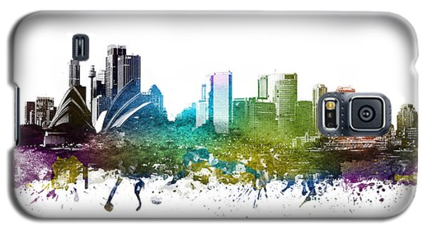Sydney Cityscape 01 Galaxy S5 Case by Aged Pixel