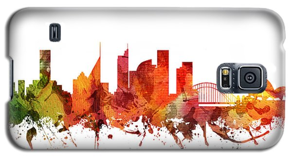 Sydney Cityscape 04 Galaxy S5 Case by Aged Pixel