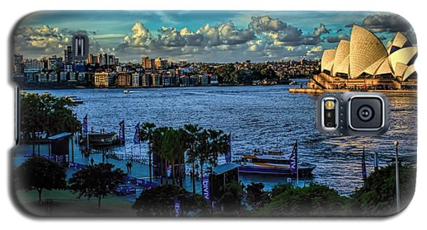 Sydney Harbor And Opera House Galaxy S5 Case by Diana Mary Sharpton