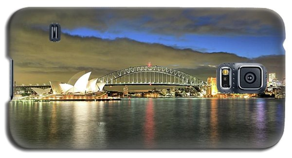 Sydney Harbor At Blue Hour Galaxy S5 Case