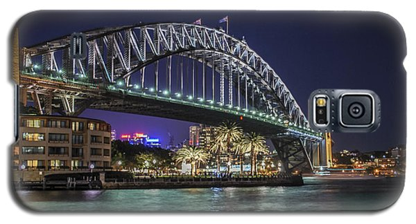Sydney Harbor Bridge At Night Galaxy S5 Case