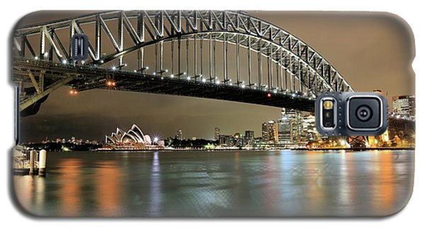 Sydney Harbour At Night Galaxy S5 Case
