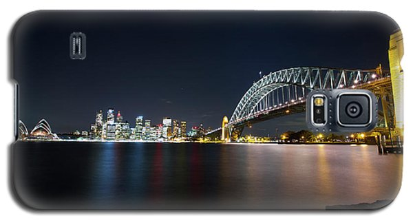 Sydney Harbour Silk Galaxy S5 Case