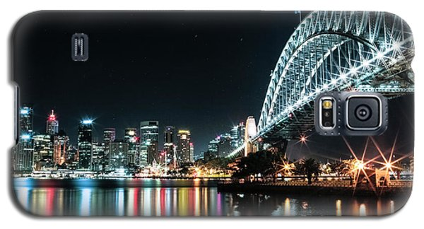 Sydney Harbour Sparkle Galaxy S5 Case