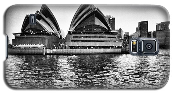 Sydney Opera House-black And White Galaxy S5 Case