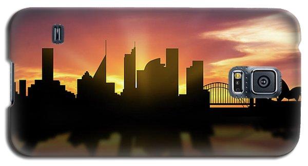 Sydney Skyline Sunset Ausy22 Galaxy S5 Case