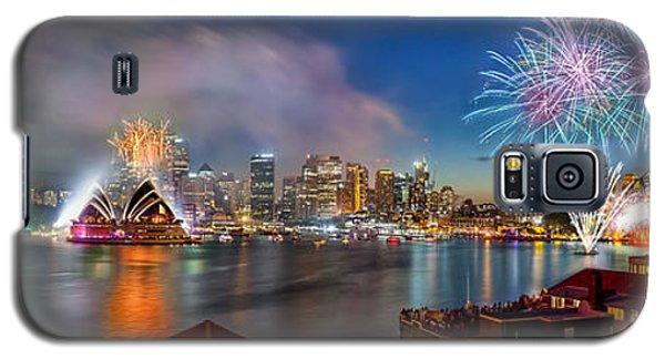 Sydney Sparkles Galaxy S5 Case by Az Jackson