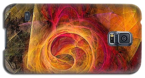 Symbiosis Abstract Art Galaxy S5 Case