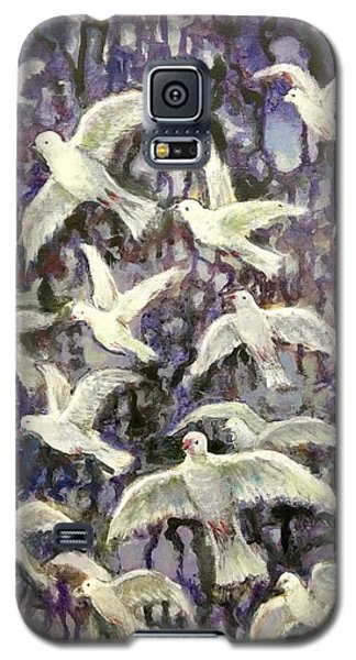 Symbol  Of Peace Galaxy S5 Case