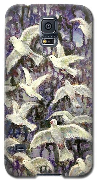 Symbol  Of Peace Galaxy S5 Case by Laila Awad Jamaleldin