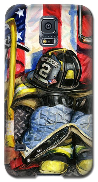 Truck Galaxy S5 Case - Symbols Of Heroism by Paul Walsh