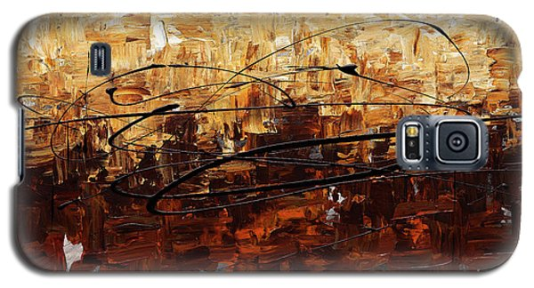 Galaxy S5 Case featuring the painting Symphony by Carmen Guedez