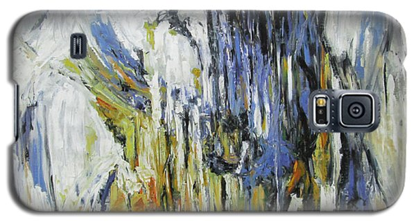 Galaxy S5 Case featuring the painting Symphony by Debora Cardaci