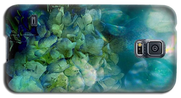 Symphony In Blue Galaxy S5 Case by Colleen Taylor