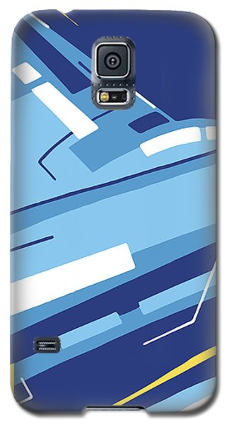 Symphony In Blue - Movement 4 - 1 Galaxy S5 Case