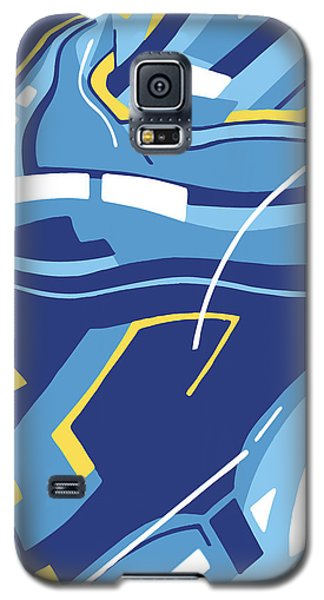 Symphony In Blue - Movement 4 - 3 Galaxy S5 Case