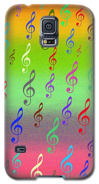Galaxy S5 Case featuring the digital art Symphony Of Colors by Angel Jesus De la Fuente