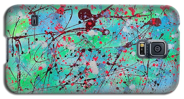 Galaxy S5 Case featuring the painting Symphony by Patrick Morgan