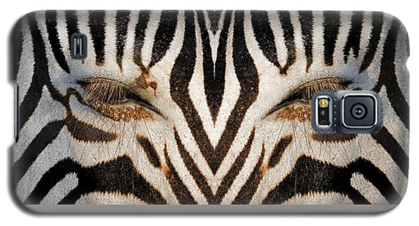 Synthetic Zebra Galaxy S5 Case