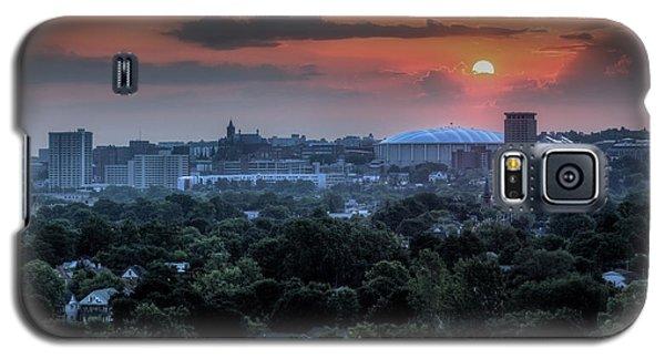 Syracuse Sunrise Galaxy S5 Case by Everet Regal