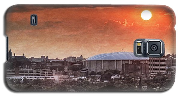 Syracuse Sunrise Over The Dome Galaxy S5 Case by Everet Regal