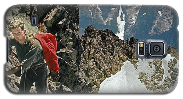 T-04403 Walt Buck Sellers On First Ascent Of Mt. Torment Galaxy S5 Case
