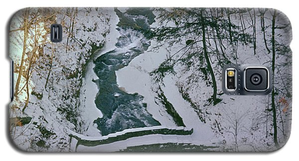 T-31501 Gorge On Cornell University Campus Galaxy S5 Case