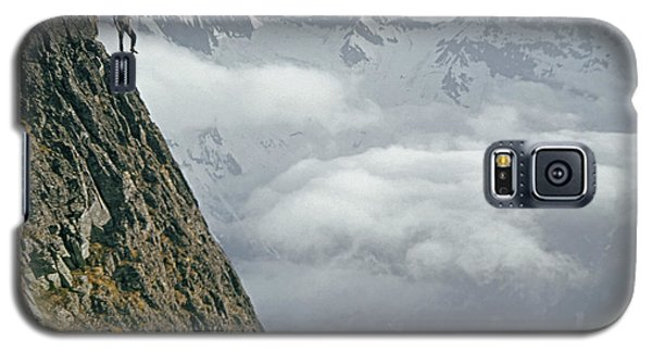 T-404101 Climbers On Sleese Mountain Galaxy S5 Case